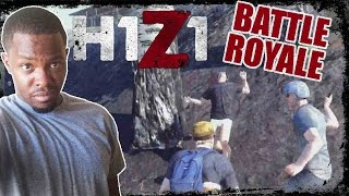 FIST FIGHT TO THE DEATH!! - H1Z1 Battle Royale Gameplay