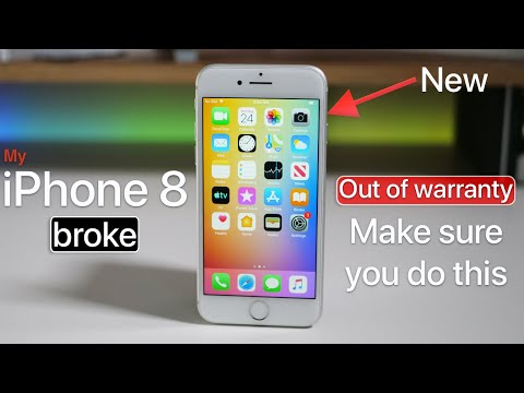 My iPhone 8 broke on its own - Make sure you do this