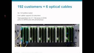 Gigabit-capable Passive Optical Networks (GPON)  Demo