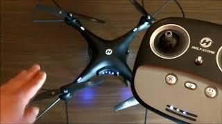HS100 Drohne mit GPS , FPV, HD Cam
