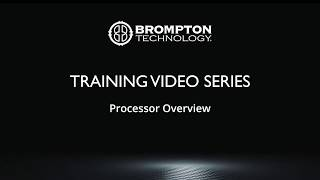 Quick Training: Processor Overview