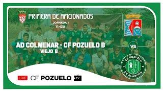 R.F.F.M. - PRIMERA AFICIONADOS (Grupo 1) - Jornada 1 - A.D. Colmenar Viejo 0-1 C.F. Pozuelo de Alarcón
