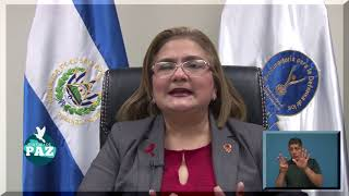 MENSAJE DE LA SEÑORA PROCURADORA SOBRE EL TEMA DE  DESPLAZAMIENTO FORZADO