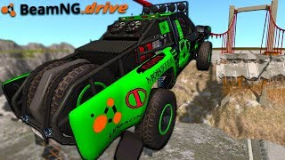 BeamNG Drive but I'm in the best trophy truck