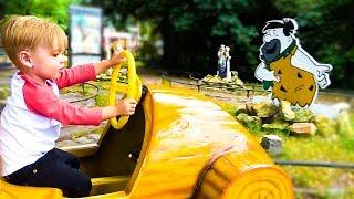 Детская игровая площадка и развлечения с животными в Голландии Влог с Дэни kids Outdoor playground