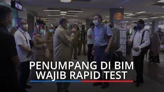 Penumpang di Bandara Internasional Minangkabau Wajib Rapid Test, Keluar Masuk Sumbar Harus Sehat