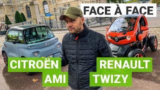 Citroën AMI vs. Renault TWIZY : le match des voitures électriques sans permis