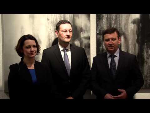 Várnegyed Galéria - A Lélek tükre - video preview image