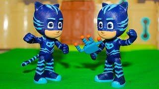 Мультики Герои в масках ПЕлохой Кэтбой Мультфильмы про Игрушки Видео для детей