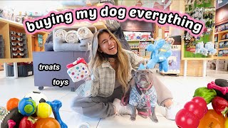 Buying My Dog Everything She Touches for her BIRTHDAY!! Huge dog haul. haha
