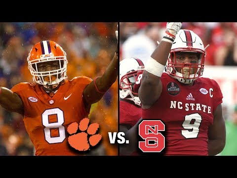 Clemson vs. NC State Preview: Fight For Control Of Atlantic Division