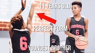 Bryce James Is The BEST Shooter In The Family Because Of This.. | Youngest Brother & Perfect Form