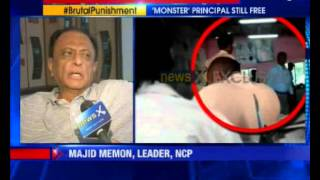 Caught on camera: College principal brutally beating up students in Bengaluru