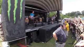 Beartooth - Pick Your Poison - Warped Tour 2014 - Nashville, TN