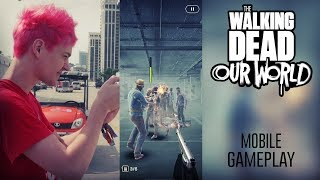 The Walking Dead: Our World Mobile Gameplay!