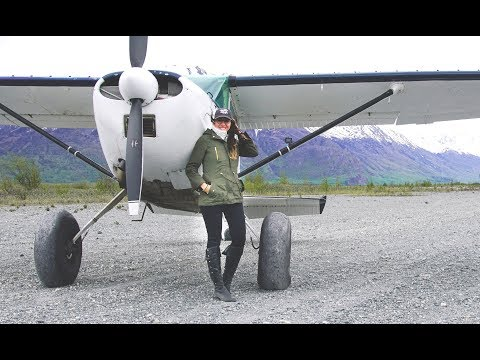 Tailwheel and OFF-airport landings in Alaska!