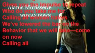 Alanis Morissette lyrics Woman Down