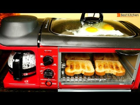Nostalgia 3 in 1 Breakfast Station Review and Demo