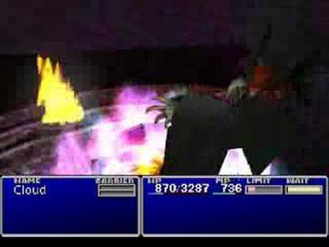 Final Fantasy 7, All Summon Materia Animations w/ OpenGL