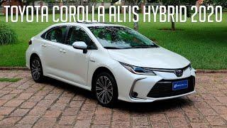 Avaliação: Toyota Corolla Altis Hybrid 2020