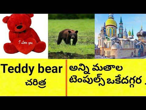 Teddy bear history || temple of all religion's