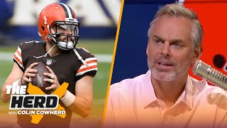 Baker Mayfield is a wildly inconsistent QB — Colin's takeaways from Browns' Week 1 loss | NFL | HERD