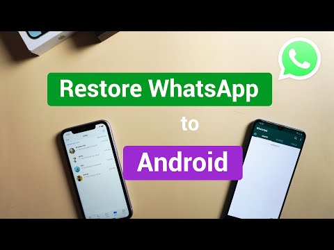 Transfer WhatsApp from Android to Android if Google Drive is Full