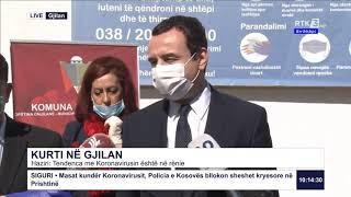 RTK3 Lajmet e orës 10:00 07.04.2020