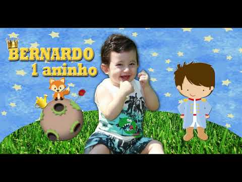 Convite Animado Rafael 1 Aninho Tema Pequeno Príncipe 2 смотреть