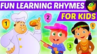 Learning Songs | ABC's, Colors, 123's, Growing-up And More! | Preschool Songs | Magicbox English