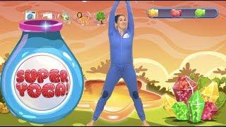 SUPER YOGA! - Stretch Safari | Fun Workout For Kids