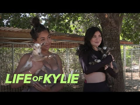 Kylie Jenner & Jordyn Woods Visit a Petting Zoo | Life of Kylie | E!