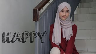 Happy | Skinnyfabs (cover With Lyrics)  Marsya Ardini