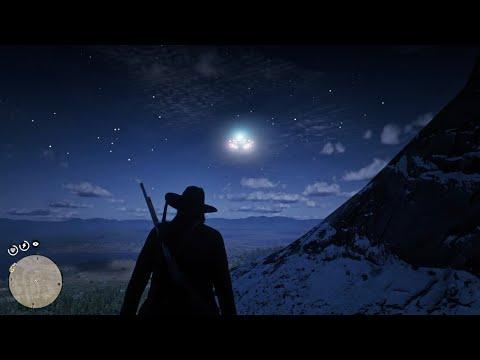 Нашел НЛО в Red Dead Redemption 2!