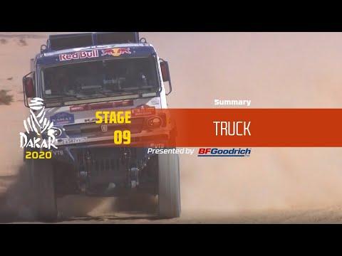 【ダカールラリーハイライト動画】ステージ9 トラック部門のハイライト