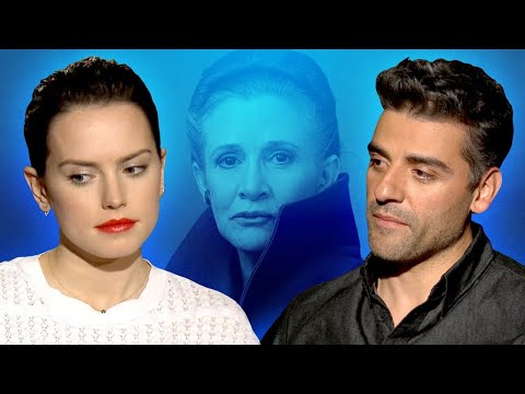 Star Wars Cast Shares Favorite Carrie Fisher Memory - The Last Jedi Interview