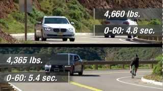 CNET On Cars - 2013 BMW 750Li vs. 2012 Lexus LS460