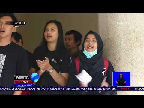 Puluhan Mahasiswa UGM Kembali Gelar Demonstraksi Menuntut Penyelesaian Kasus Pelecehan Seksual   NET