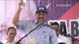 preview picture of video 'Ucapan Datuk Musa di Tenom 24 April 2013 video tanpa edit.'