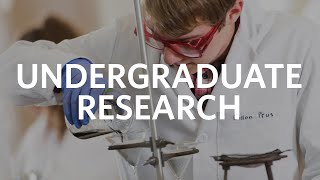 Undergraduate Research at Clark University