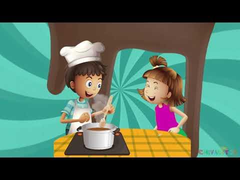 El Patio de mi Casa (Chocolate, Molinillo) - Canción Infantil - Chivaditos