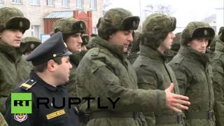 Russia: Watch Chechen recruits enlist in Russian Army for first time in 20 years