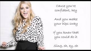 Meghan Trainor - Better when I'm dancing' LYRICS VIDEO