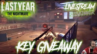 Key Giveaway Last Year The Nightmare BETA (livestream)