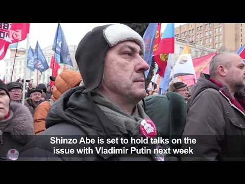 Our Land: Russians protest Kuril islands handover to Japan