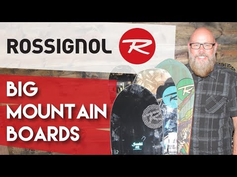 2018 Rossignol Big Mountain Snowboards – Review – TheHouse.com