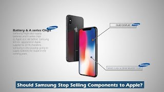 Why does Samsung help Apple?