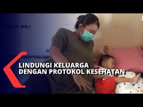 menanti kelahiran sang anak ibu ini terapkan protokol kesehatan ketat