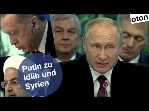 Putin zu Idlib und Syrien auf deutsch [Video]