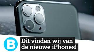 REACTIEVIDEO: de nieuwe iPhones